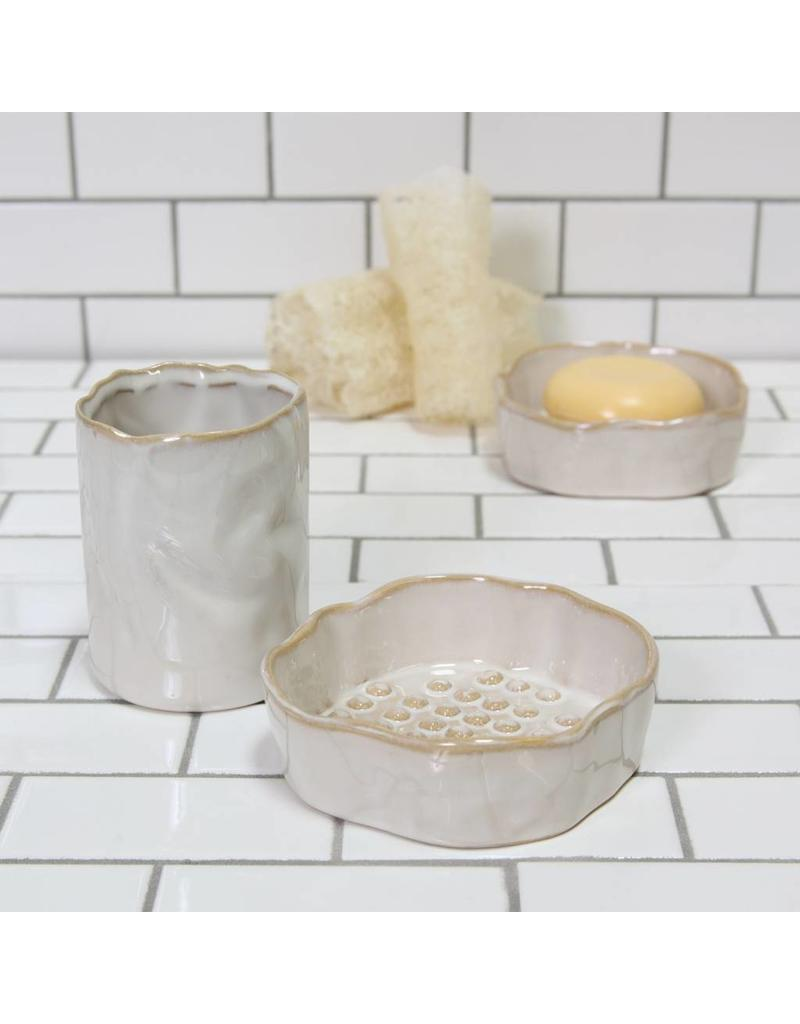 HomArt Bower Ceramic Cup Cream
