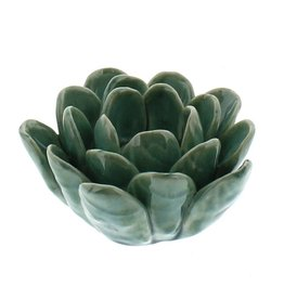 HomArt Succulent Tealight Holder - Blue