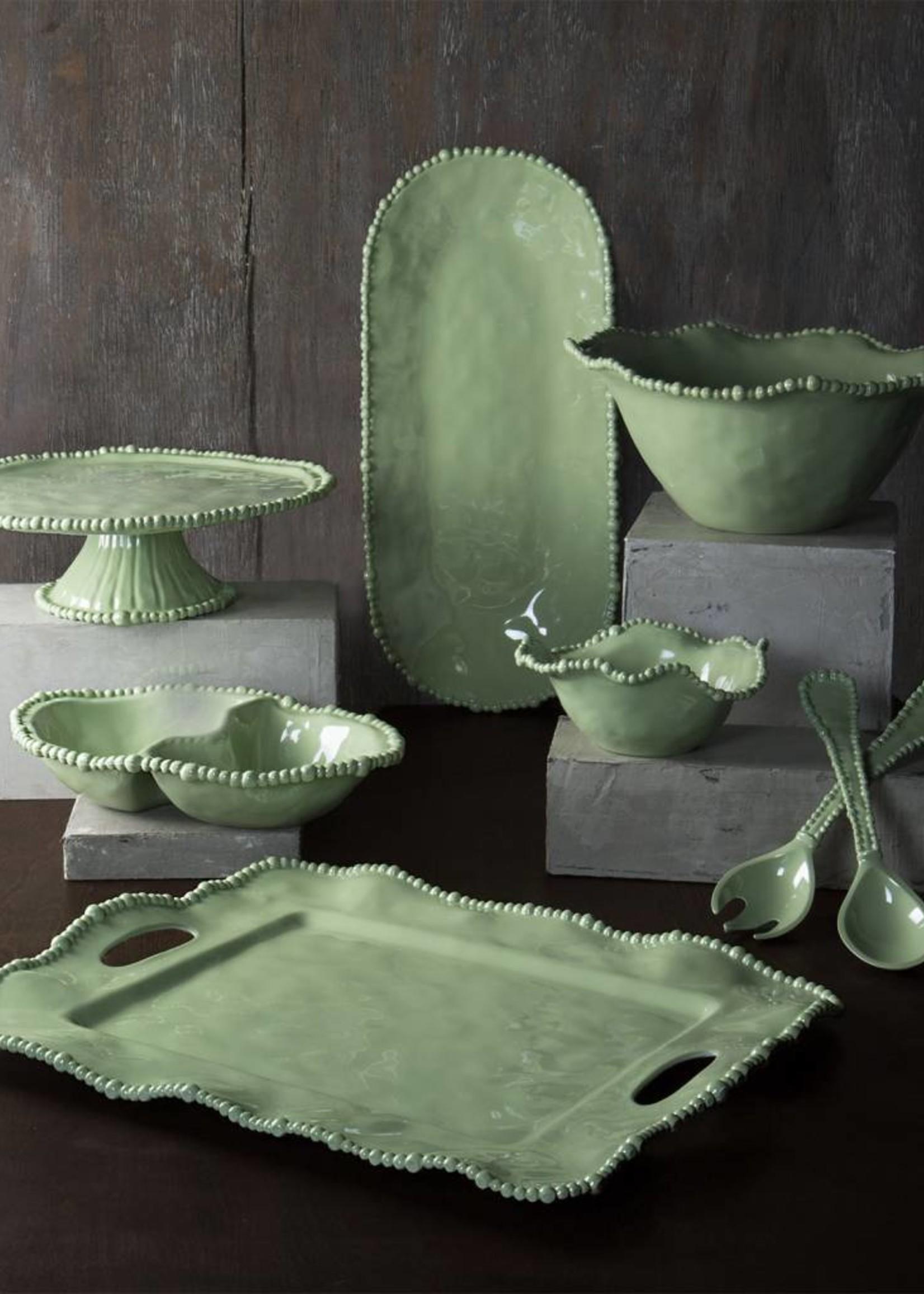 Beatriz Ball VIDA ALEGRIA Salad Servers (lg) - Green
