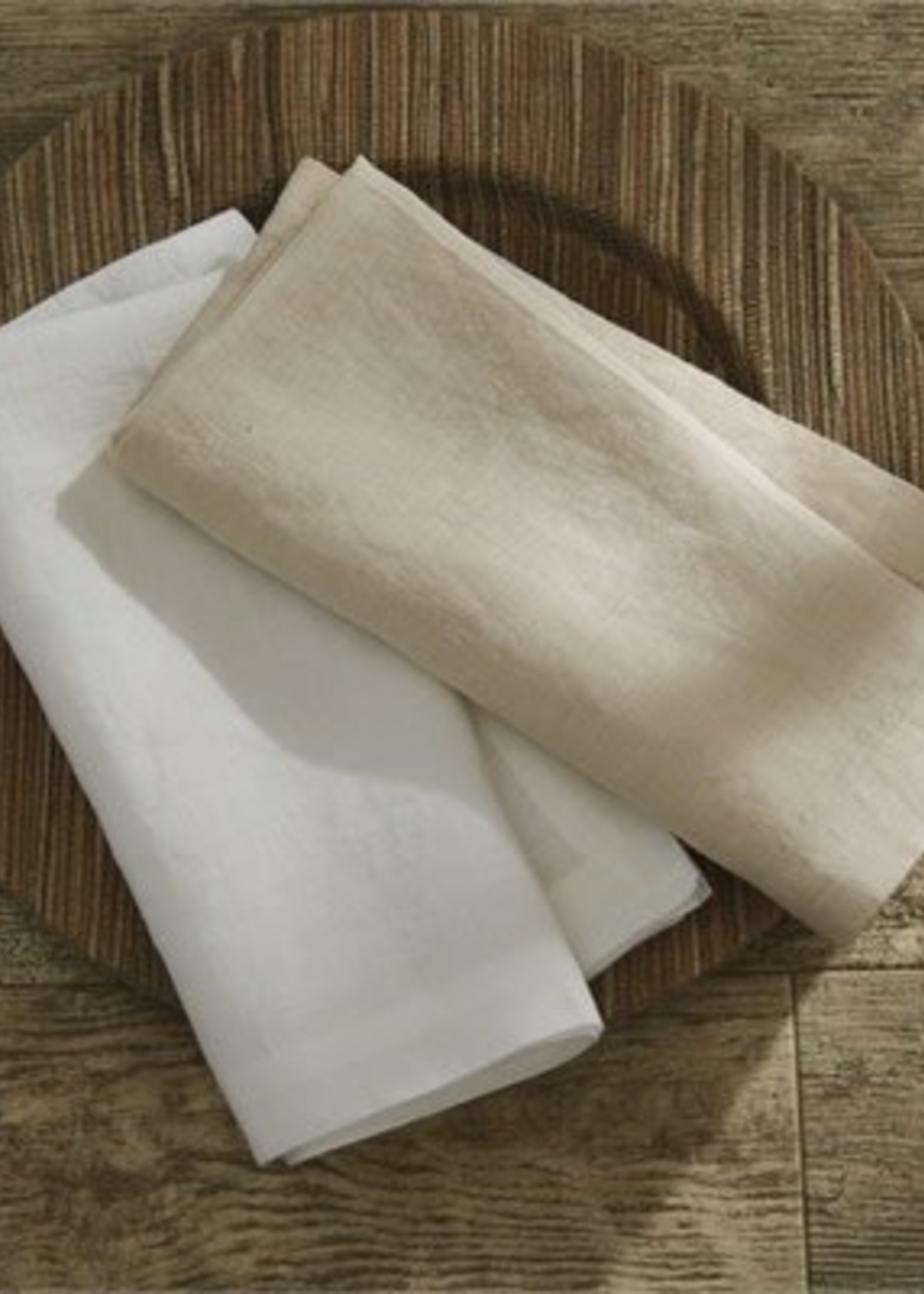 Split P Linen Napkin Stone (Oatmeal)