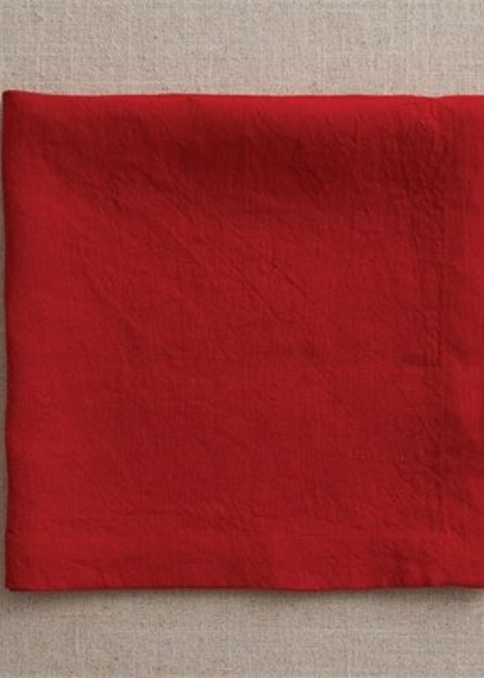 Split P Linen Napkin Red