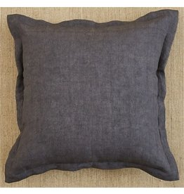 Split P Linen Pillow Slate