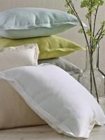 Split P Linen Pillow Sterling