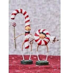 "ESC & Company ""Patsy"" Peppermint Figurine (Candy Cane)"