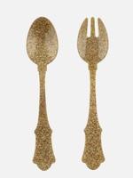 Sabre Flatware Salad Set Glitter, Gold