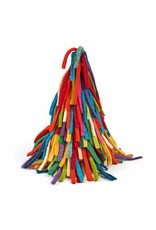 Arcadia Home Multicolor Hand Felted Fringe Tree Topper