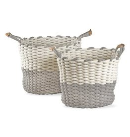 Tag Ltd Chunky Knit Cord Basket Small