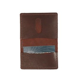 Rustico Voyager Leather Wallet Dark Brown
