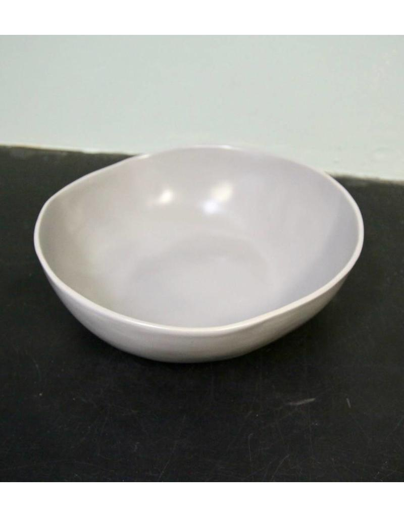 "Alex Marshall Pottery 12"" Round Bowl Grey"