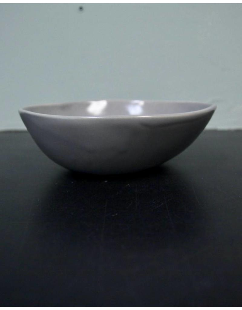 "Alex Marshall Pottery 6.5"" Slim Round Bowl Grey"