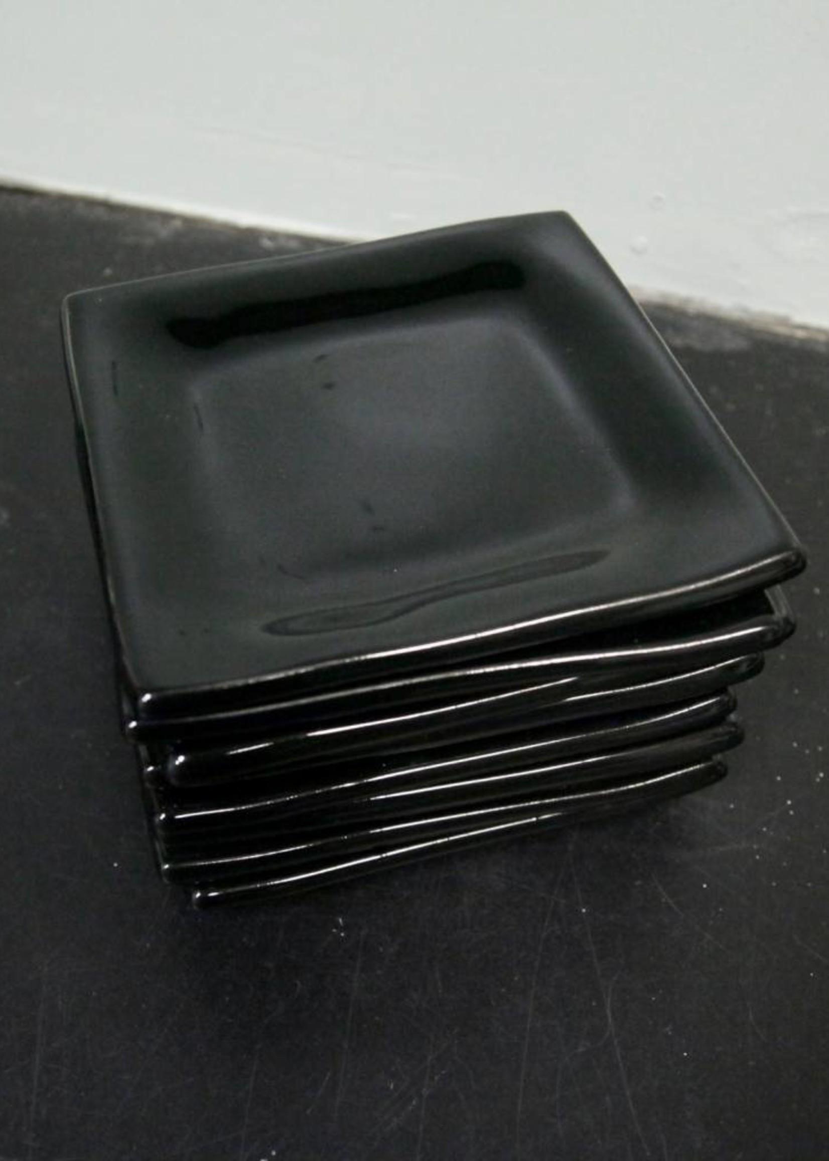 Alex Marshall Pottery Square B&B Gloss Black