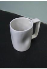 Alex Marshall Pottery Tall Mug Gloss White