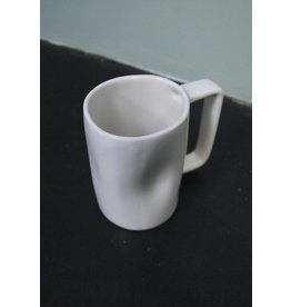 Alex Marshall Pottery Tall Mug Gloss White