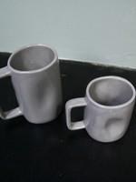 Alex Marshall Pottery Tall Mug Grey