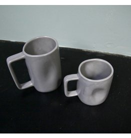Alex Marshall Pottery Tall Mug Grey