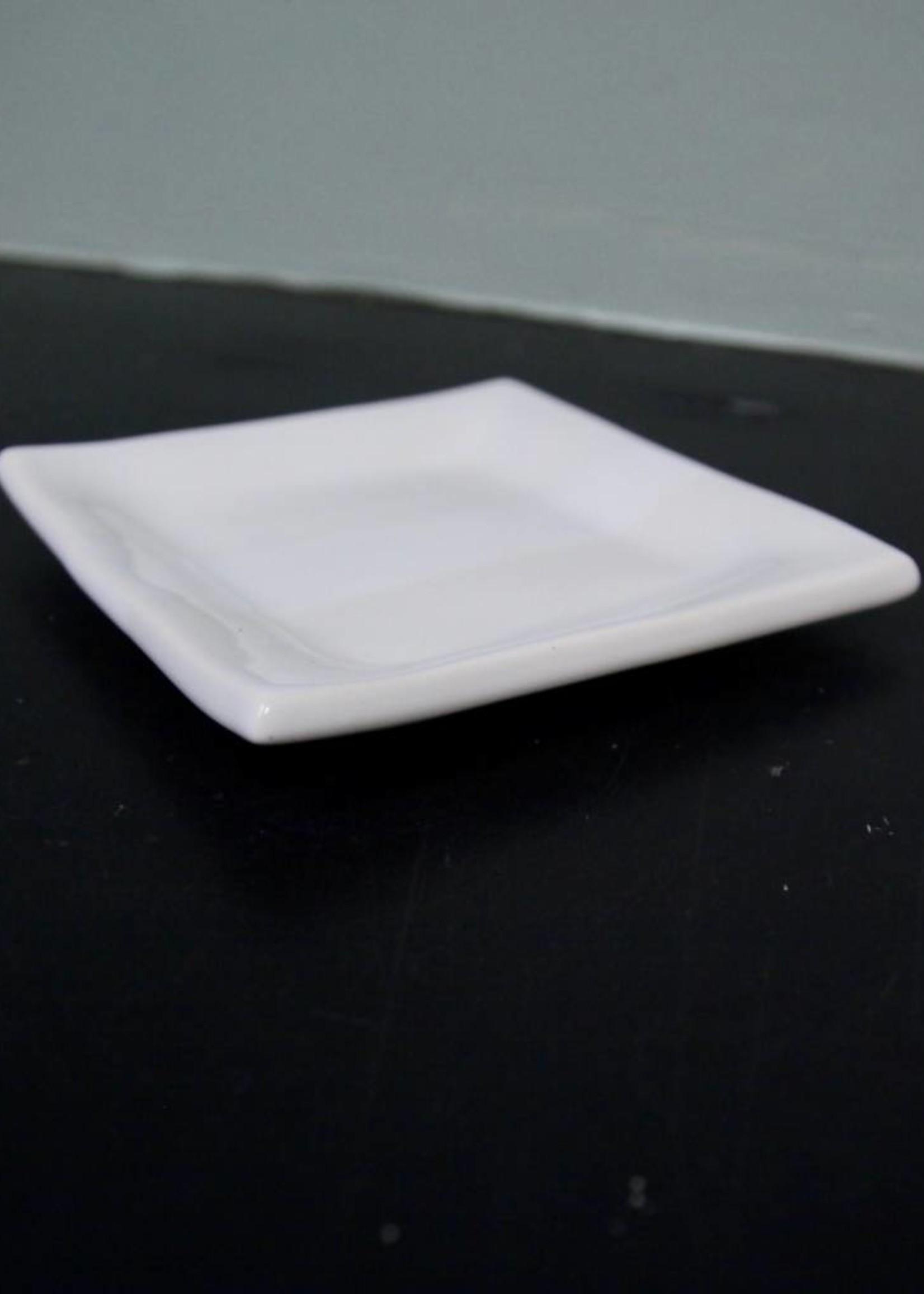 Alex Marshall Pottery Square B&B Gloss White