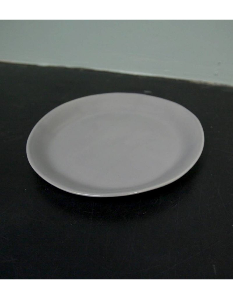 "Alex Marshall Pottery 8.5"" Slim Round Side Grey"