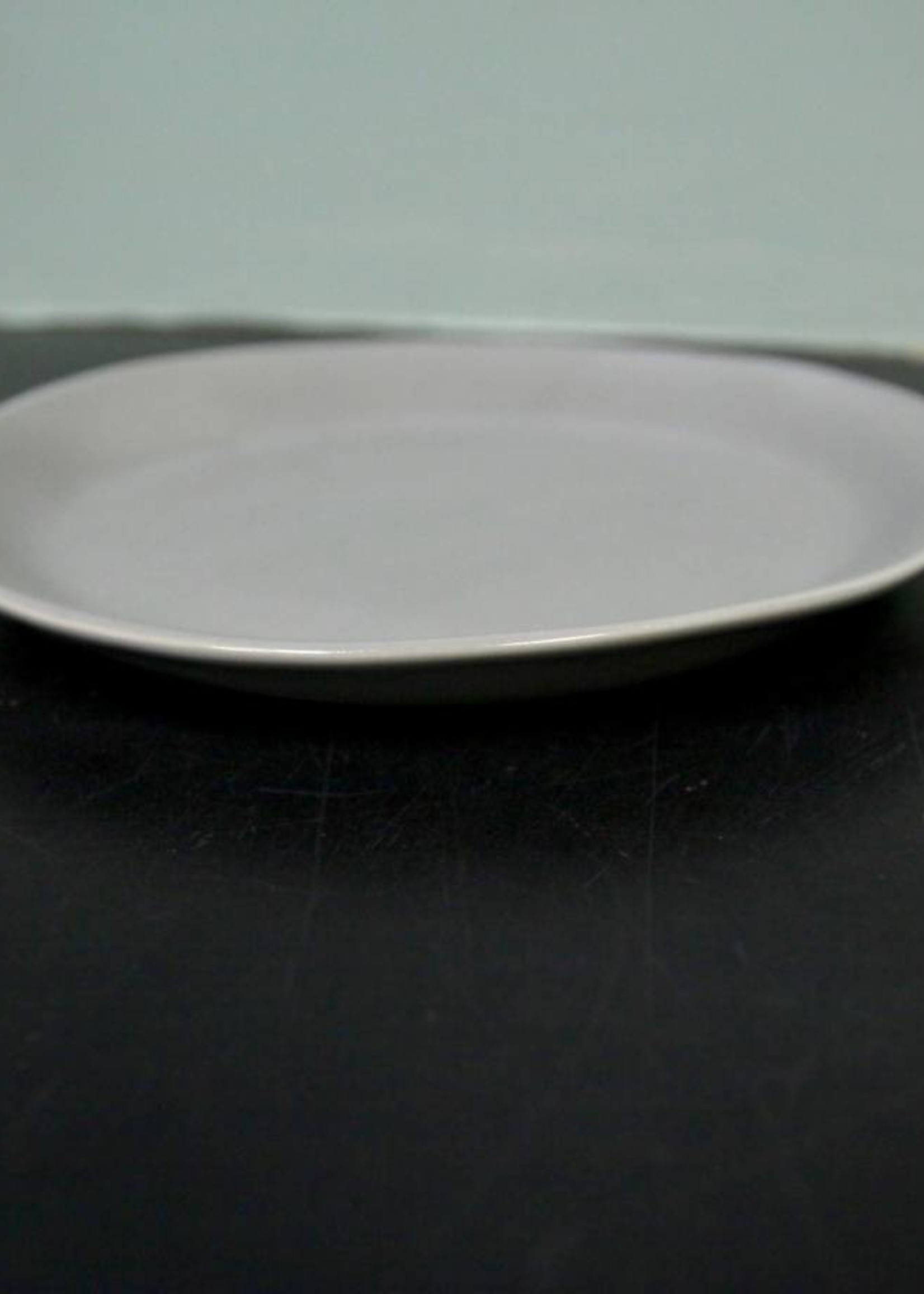 "Alex Marshall Pottery 8.5"" Slim Round Side Grey"