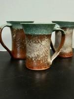 Dock 6 Pottery Mug Green/Copper