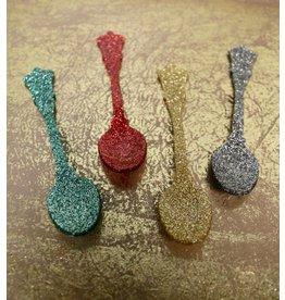 Sabre Flatware Glitter Teaspoon, Gold