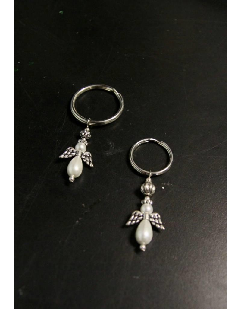 Angel Keychain Large Ring