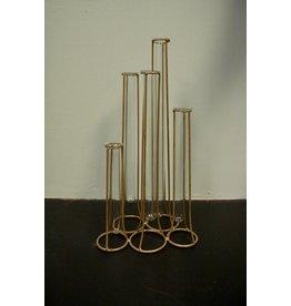 "Tradecie 15.75"" Vase Gold"