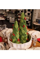 "17"" Holly Tree Set/2"