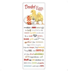 Hatching Chicks Deviled Eggs Recipe Towel