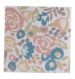 Spring Floral Paper Cocktail Napkin