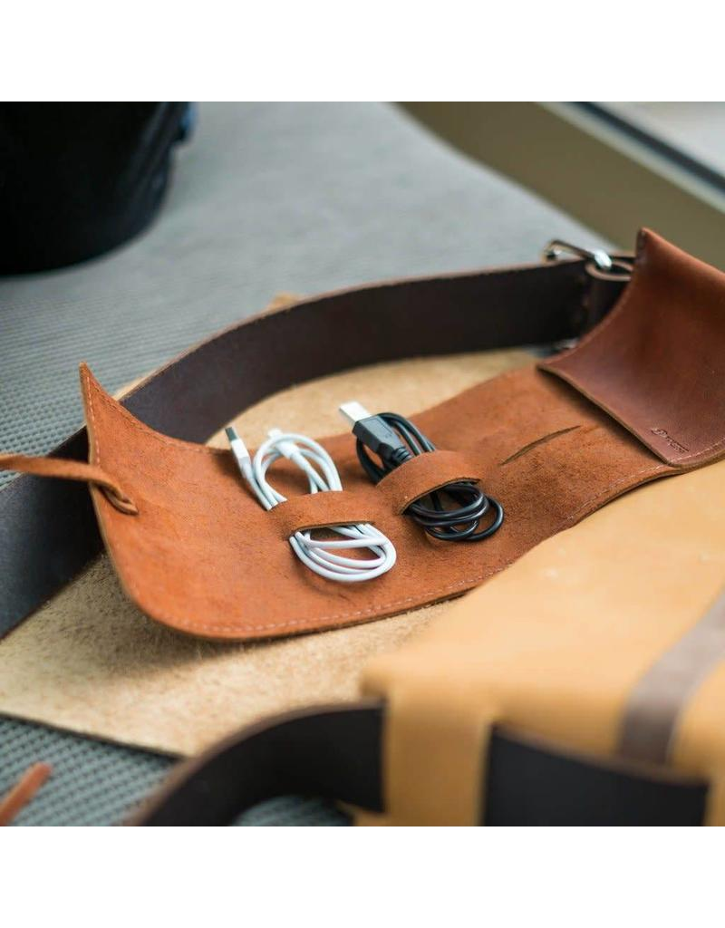 Rustico Sidekick Leather Cord Wrap Saddle