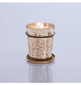 Capri Blue 8 oz Found Glass Volcano Candle