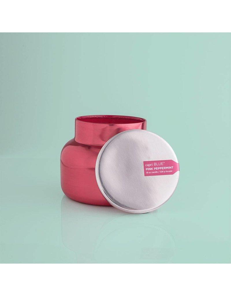 Capri Blue 19 oz Pink Metallic Signature Jar