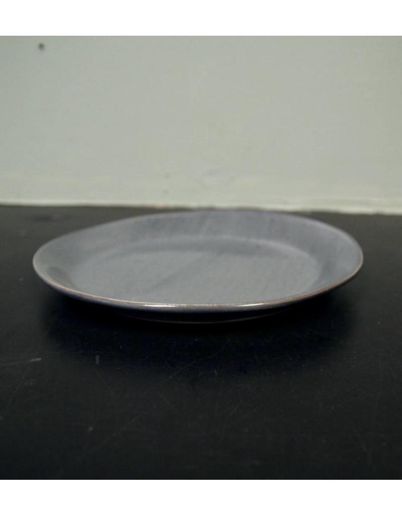 "Alex Marshall Pottery 8.5"" Slim Round Side Blue Grey"