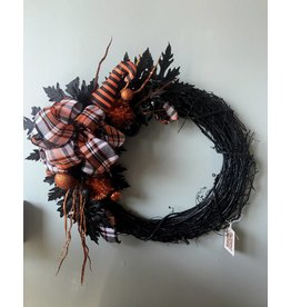 Halloween Wreath Horizontal