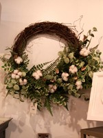 Eucalyptus Fern Wreath