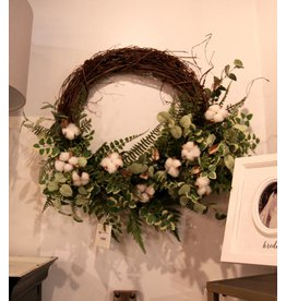Eucalyptus Fern Wreath