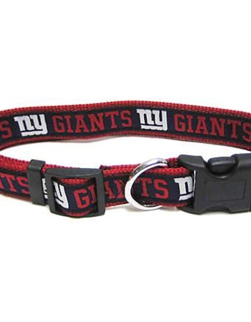 PET FIRST NEW YORK GIANTS NFL DOG COLLAR LG 7f5b56cb3