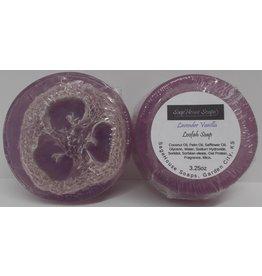 Lavender Vanilla Loofah