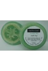 Cucumber mint loofah soap