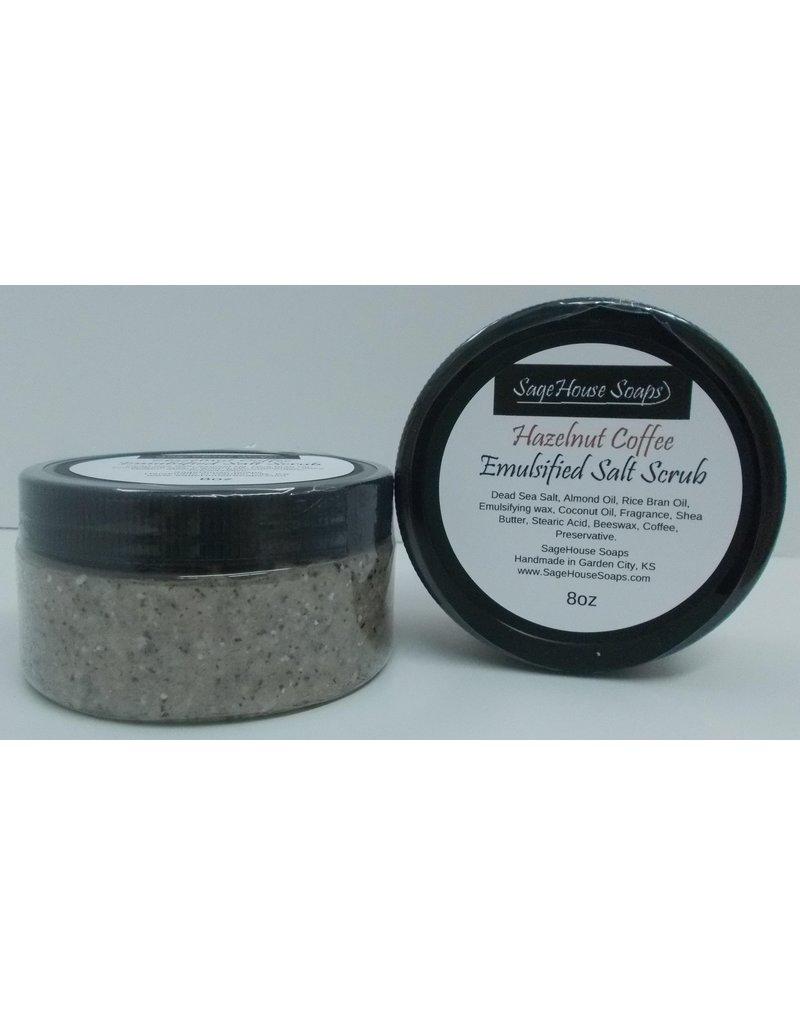 Hazelnut Coffee Salt Scrub