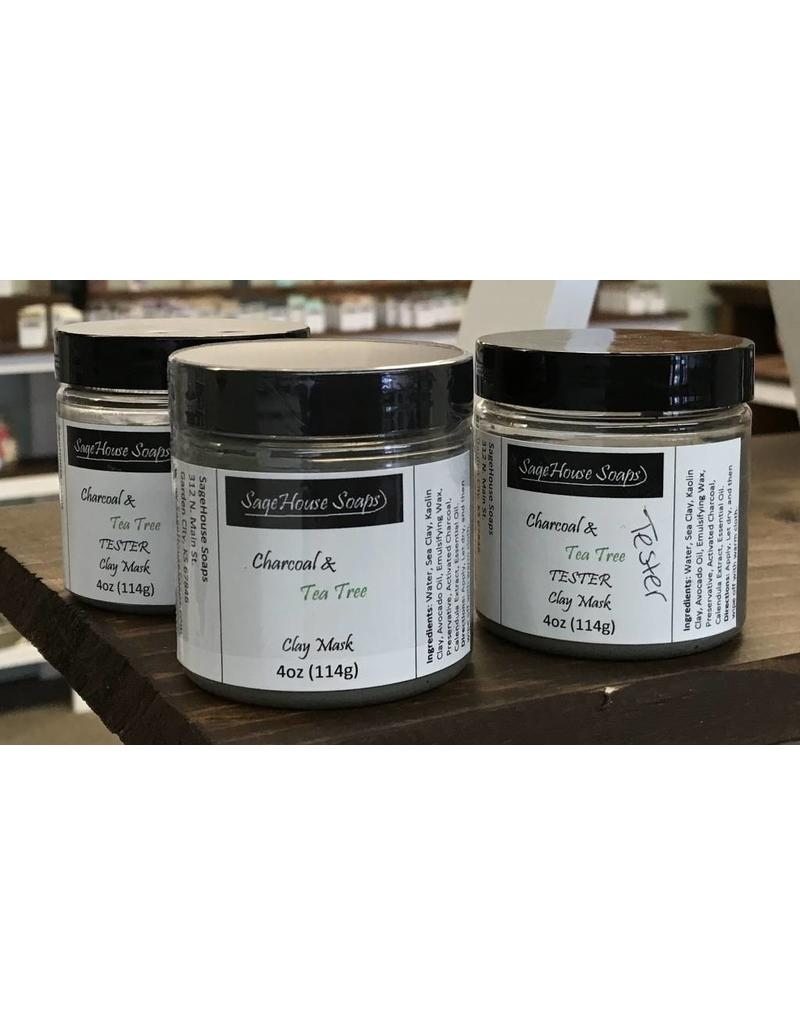 Charcoal & Tea Tree Face Mask