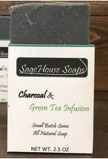 Charcoal & Green Tea Infusion Soap