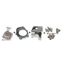 DDM Racing RC Engine Chrome Kit