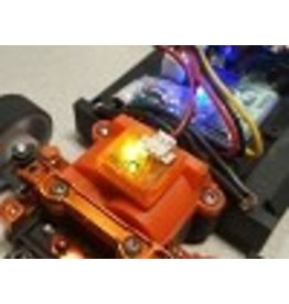 EasyLap EASYLAP IR Personal Transponder Orange Version (Compatible with Robitronic Lap Timing)