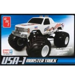 AMT 1/32 Snap USA-1 4x4 Monster Truck w/Decals
