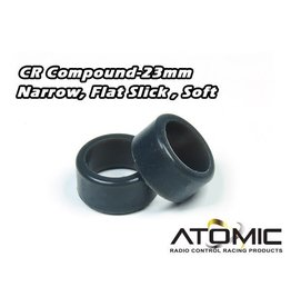 Atomic CR Compound Tire 23mm. Narrow, Groove, medium