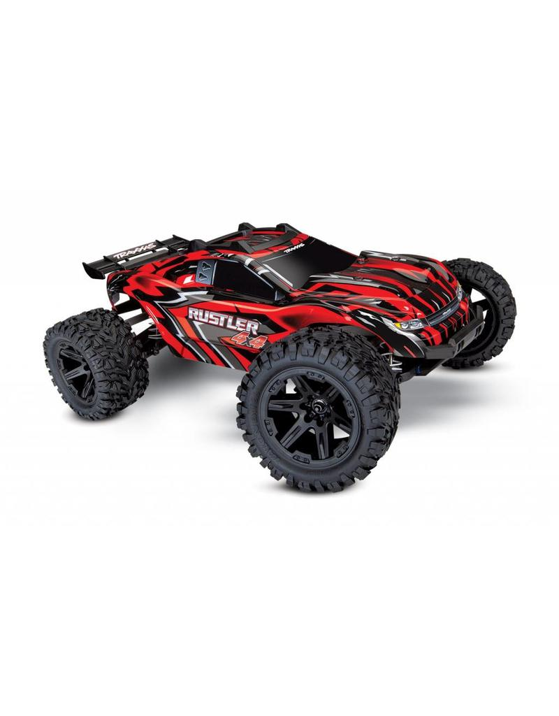 Traxxas Rustler 4x4 Brushed (Red)