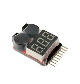 HobbyStar HobbyStar 1-8S Battery-Meter & Low-Voltage Alarm (420-20-119)
