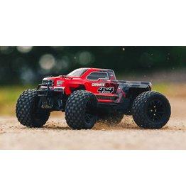 Arrma 1/10 GRANITE 4x4 Mega Brushed Monster Truck RTR, Red/Black