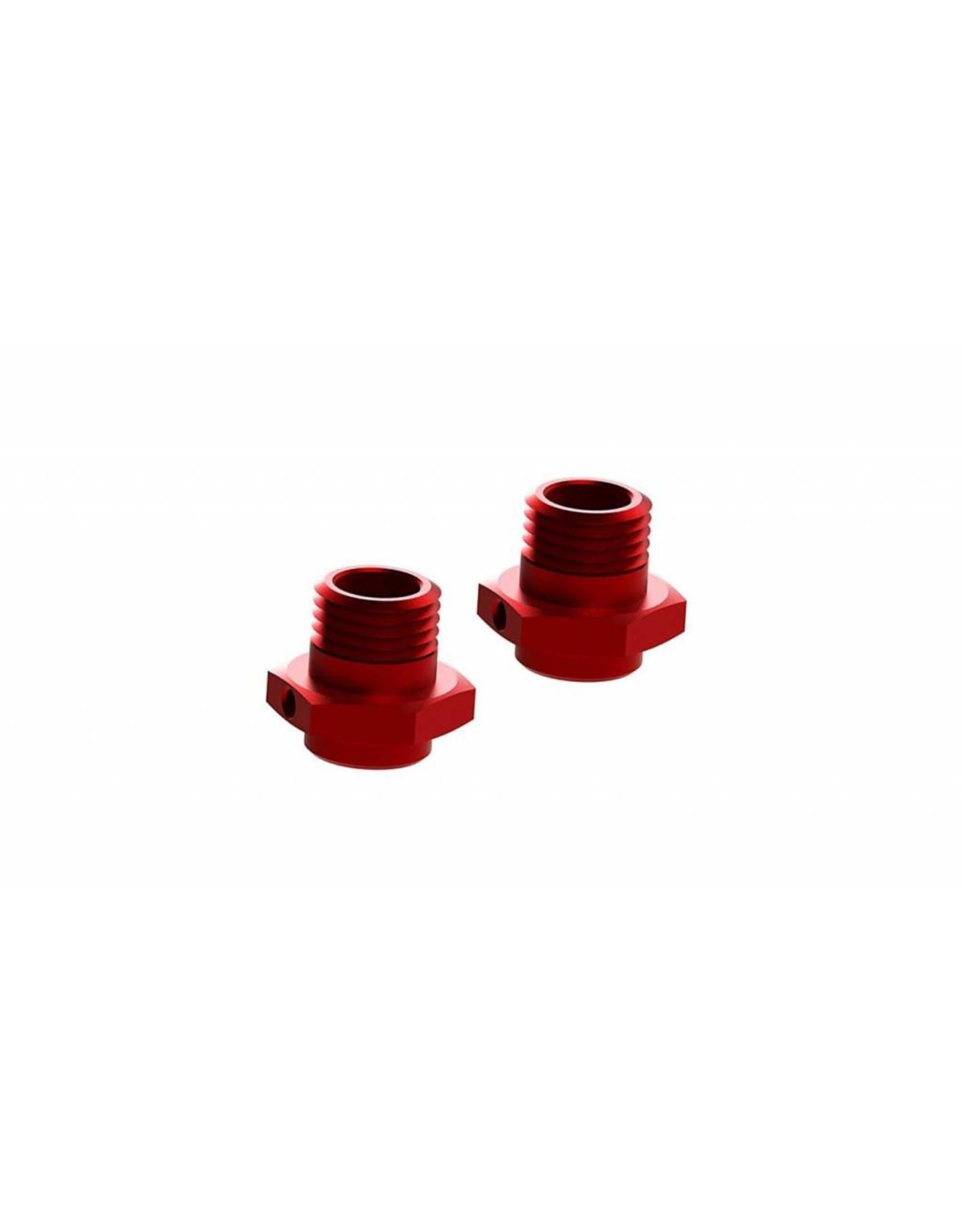 Arrma ARRMA Wheel Hex 17.6mm Aluminum Red